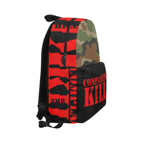 Complacency Kills Backpack Unisex Classic Backpack (Model 1673)