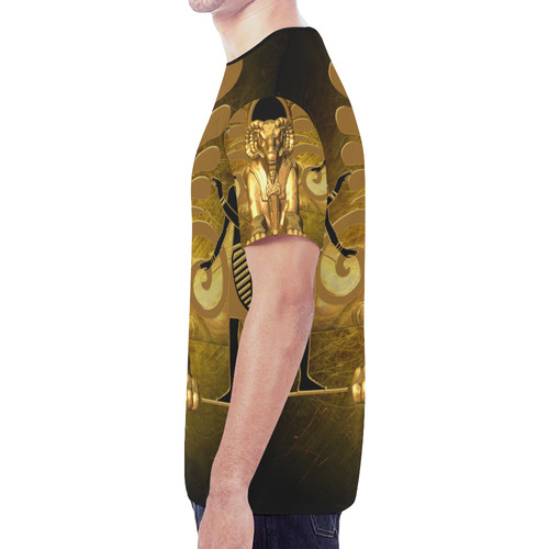 Anubis the egyptian god New All Over Print T-shirt for Men (Model T45)