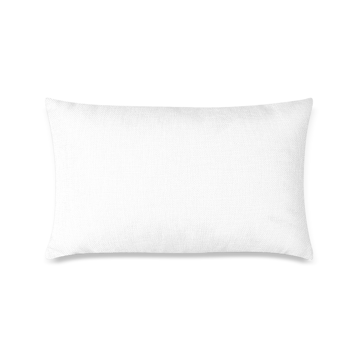 """Custom Zippered Pillow Case 16""""x24""""(One Side Printing)"""