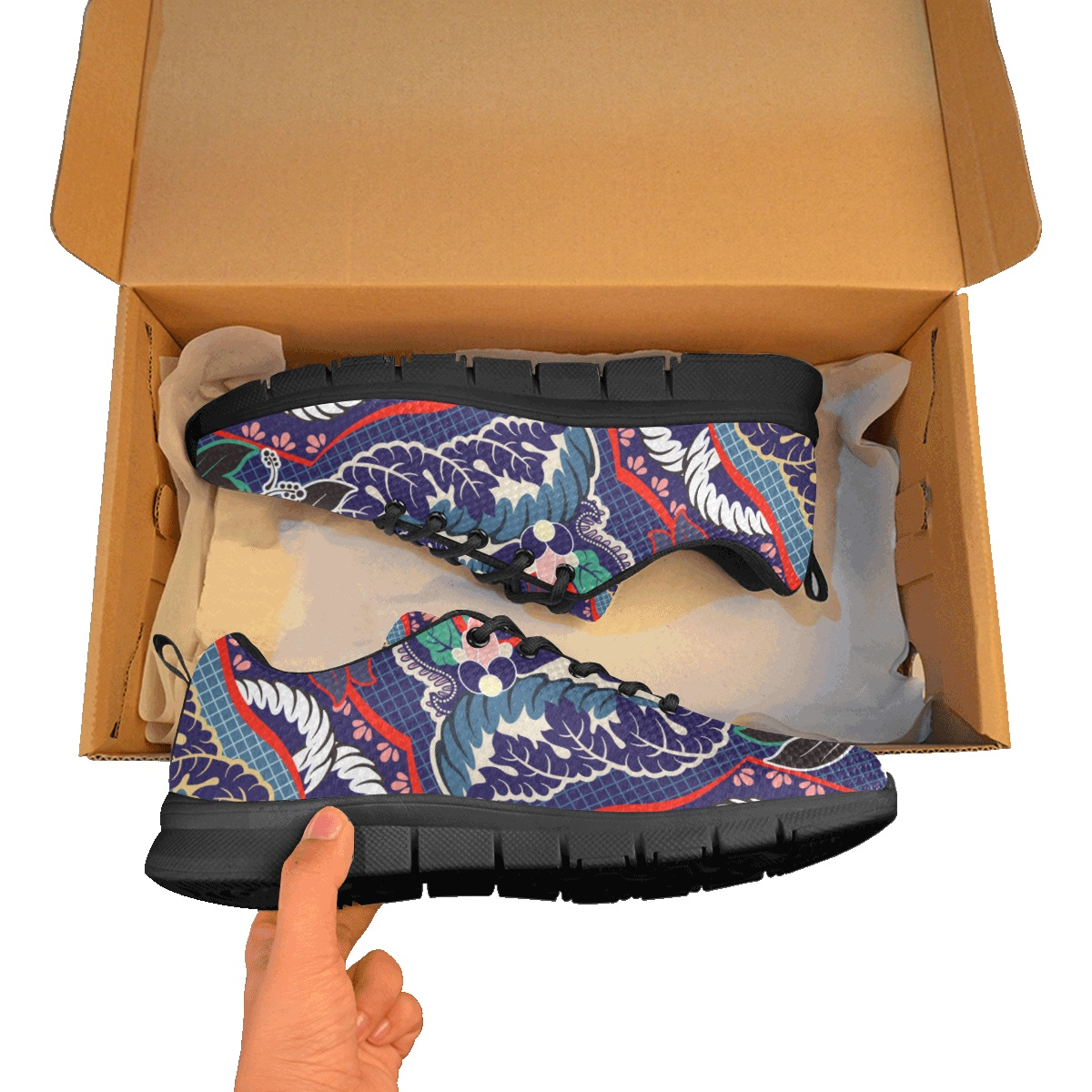 Women's Breathable Running Shoes/Large (Model 055)