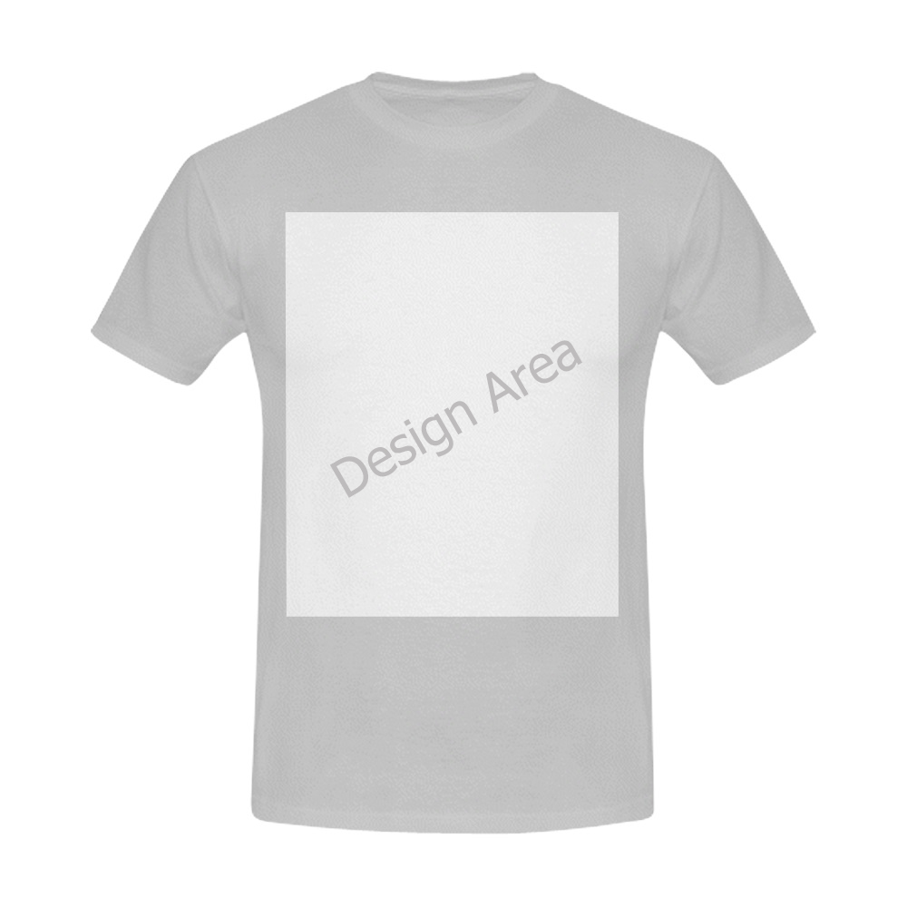 Men's T-Shirt in USA Size (Front Printing Only)