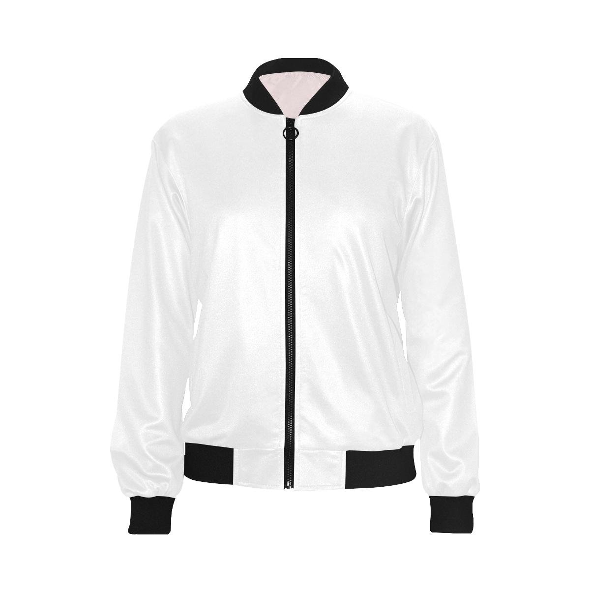 All Over Print Bomber Jacket for Women (Model H36)