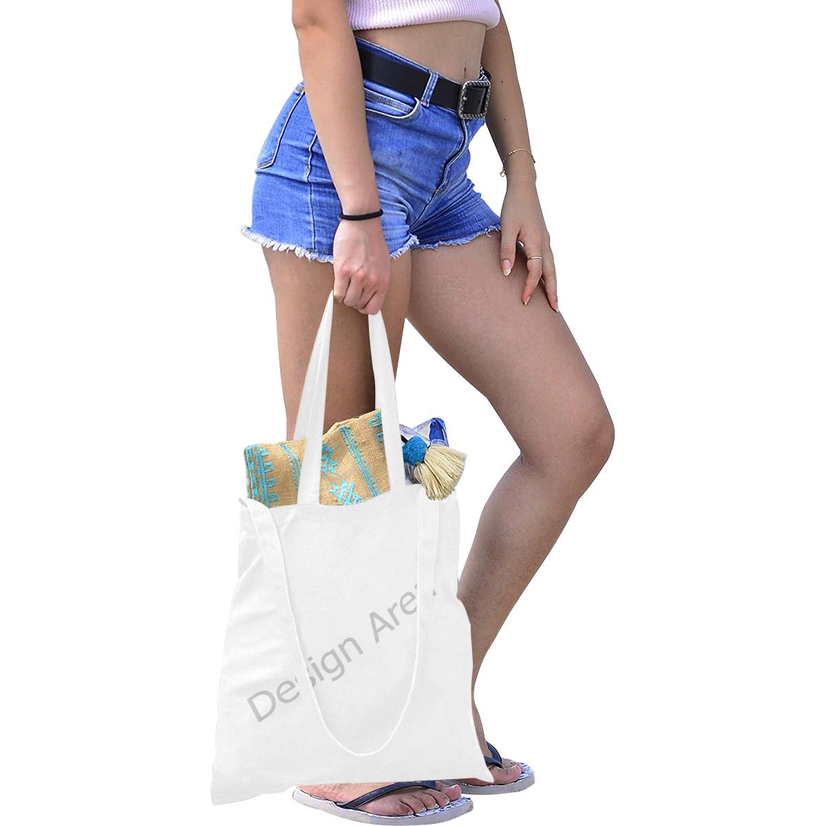 Canvas Tote Bag/Medium (Model 1701)