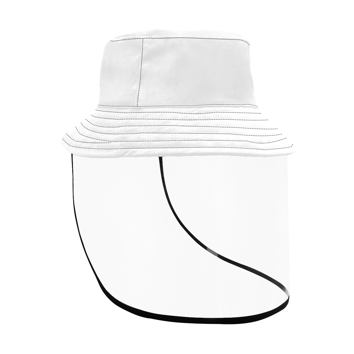 Women's Bucket Hat (Detachable Face Shield)