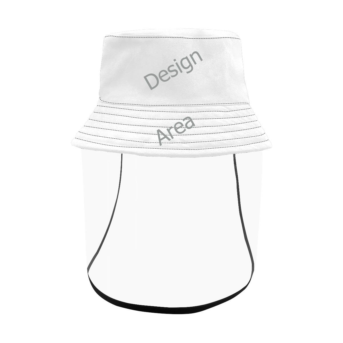 Men's Bucket Hat (Detachable Face Shield)