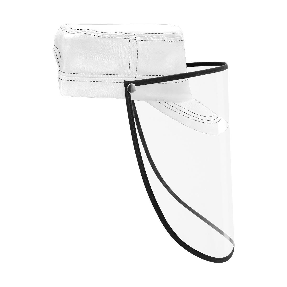 Military Style Cap (Detachable Face Shield)