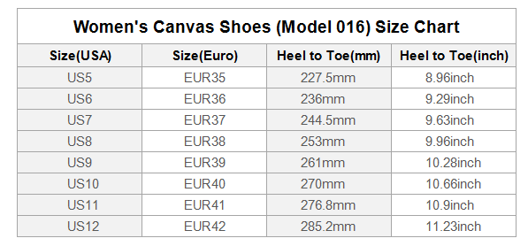 mewe-jewelry - shoe size