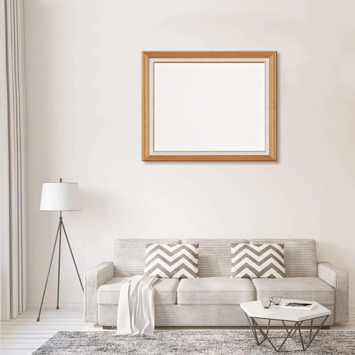 120-Piece Wooden Photo Puzzles