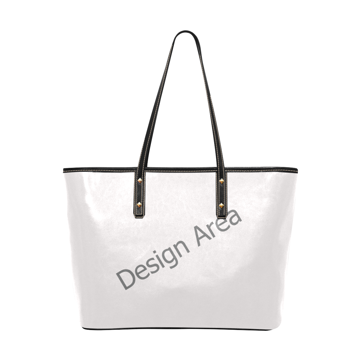 Chic Leather Tote Bag (Model 1709)