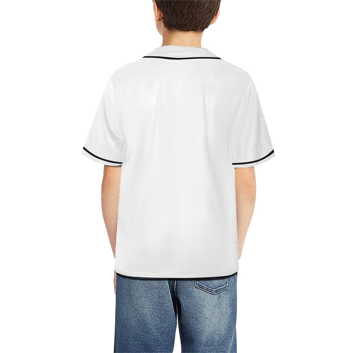 All Over Print Baseball Jersey for Kids (Model T50)