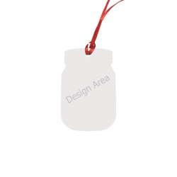 Bottle Shape Ornament