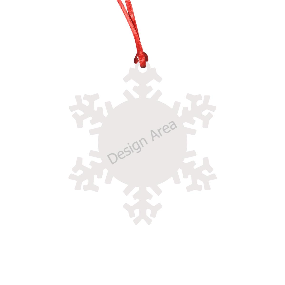 Snowflake Shape Ornament
