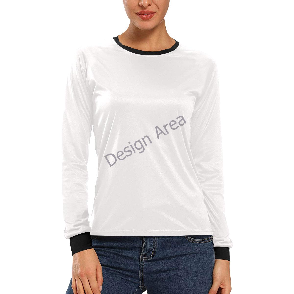 Women's All Over Print Long Sleeve T-shirt (Model T51)