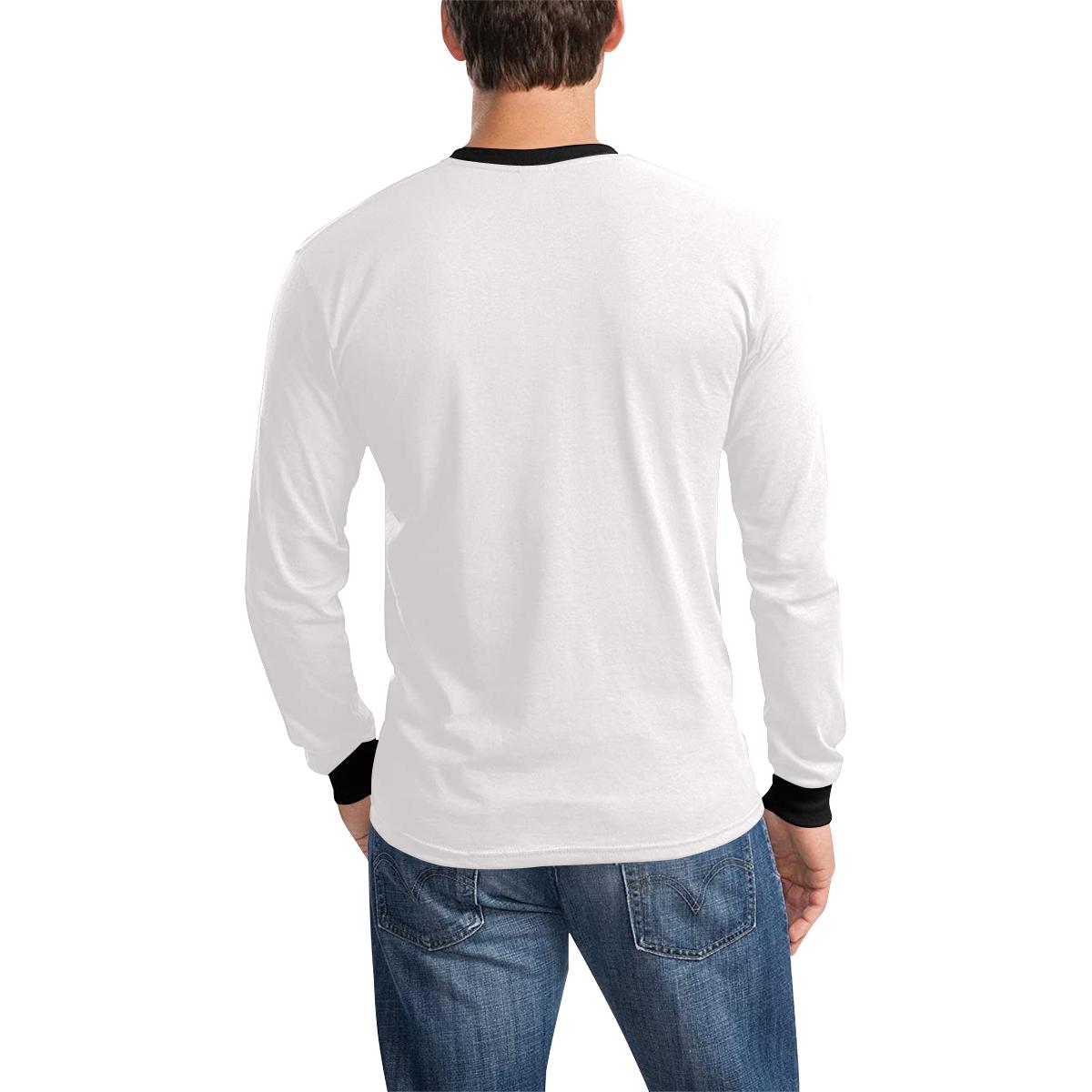 Men's All Over Print Long Sleeve T-shirt (Model T51)