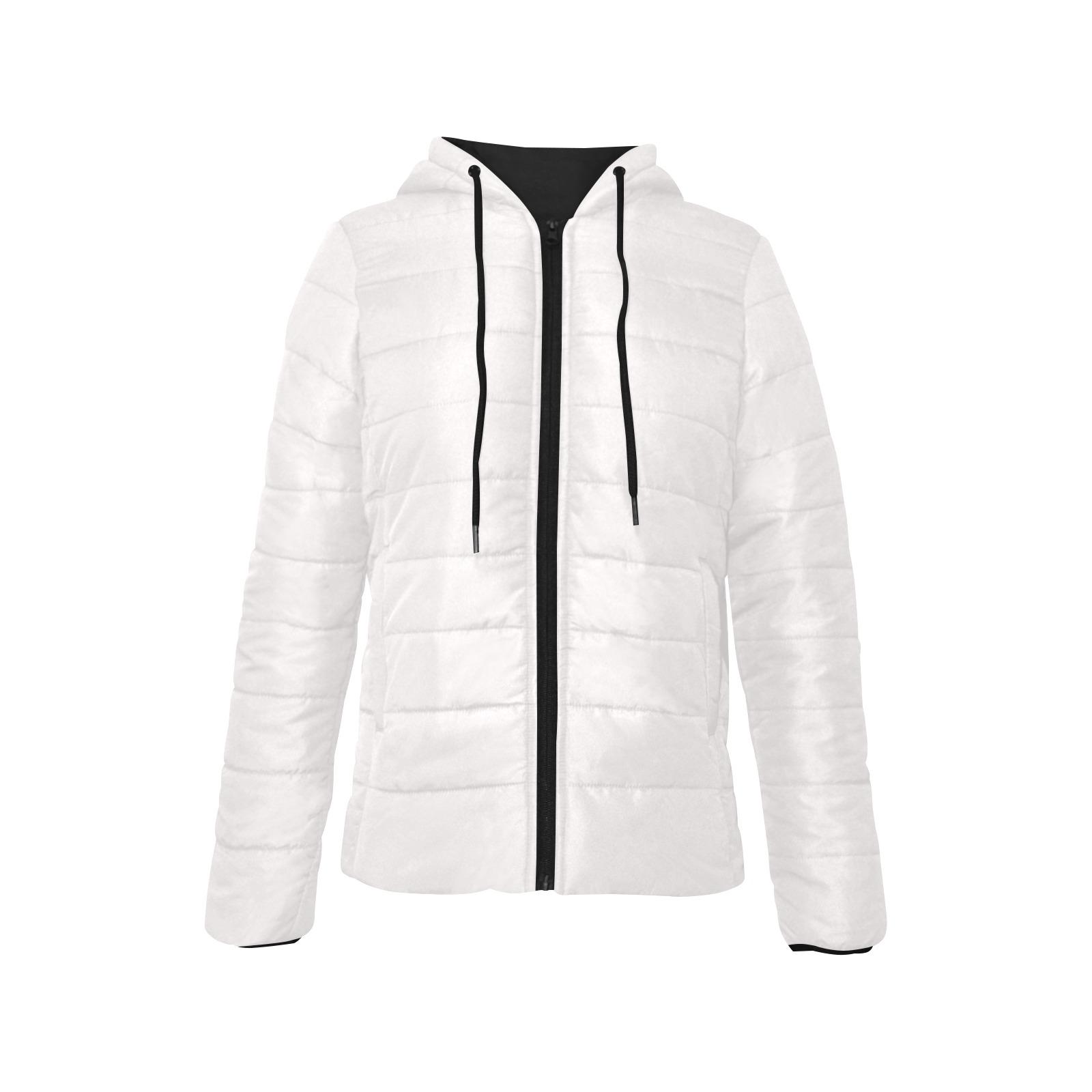 Women's Padded Hooded Jacket (Model H46)