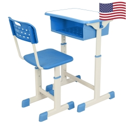 Adjustable Student Desk and Chair Kit