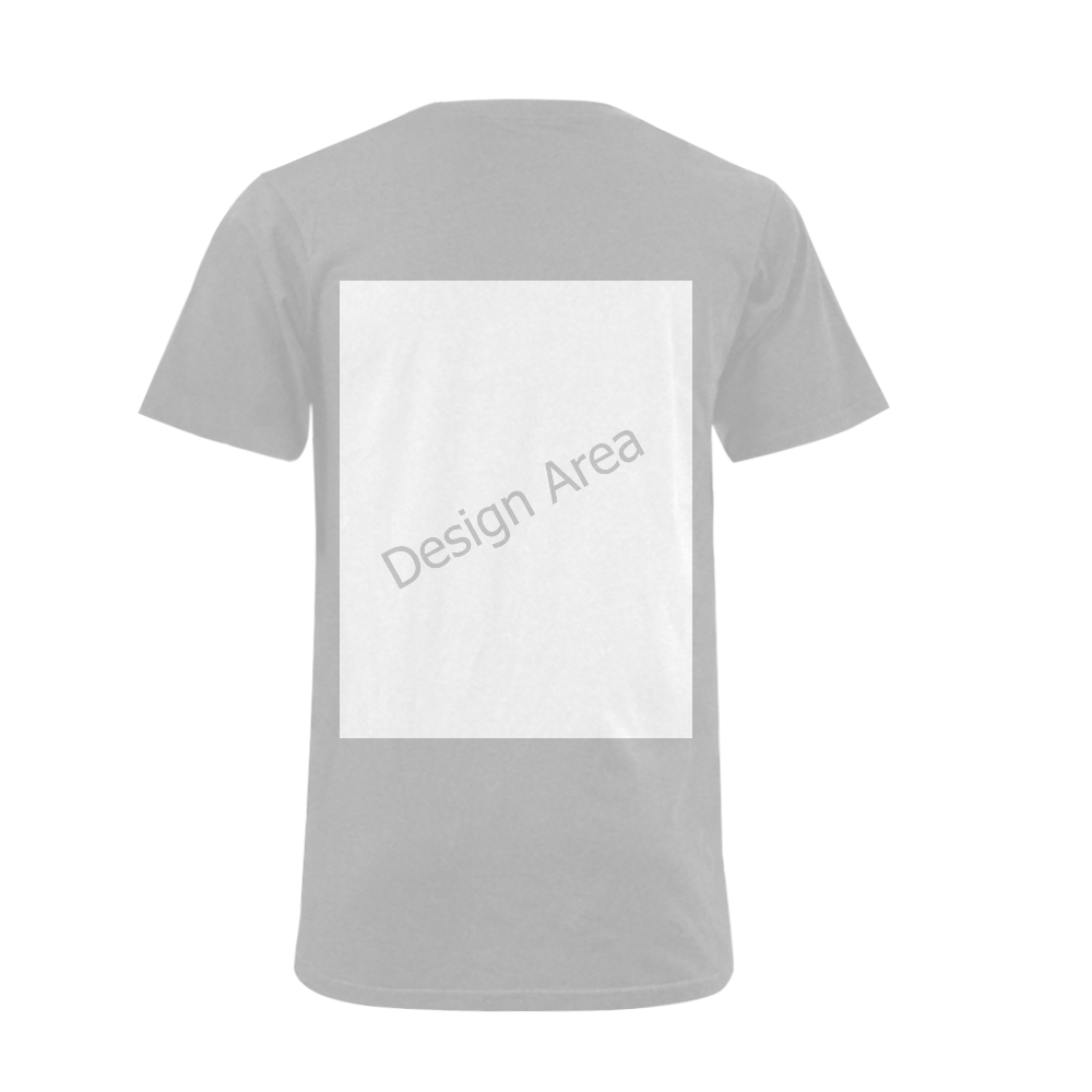 Men's V-Neck T-shirt (USA Size) (Model T10)