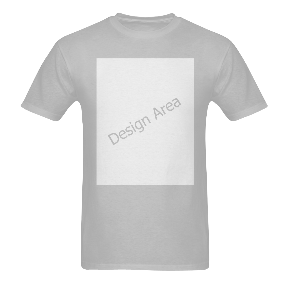 Men's T-Shirt in USA Size (Two Sides Printing)