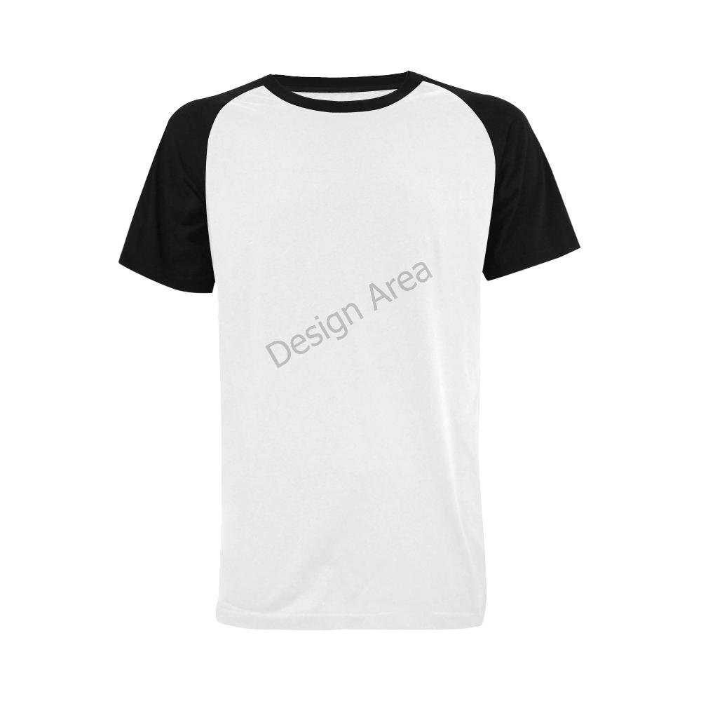 Men's Raglan T-shirt Big Size (USA Size) (Model T11)