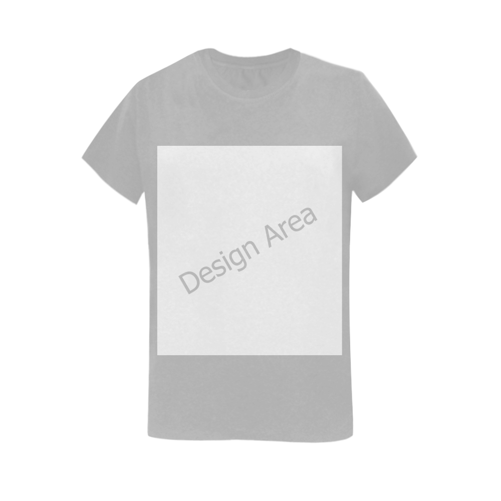 Women's T-Shirt in USA Size (Two Sides Printing)