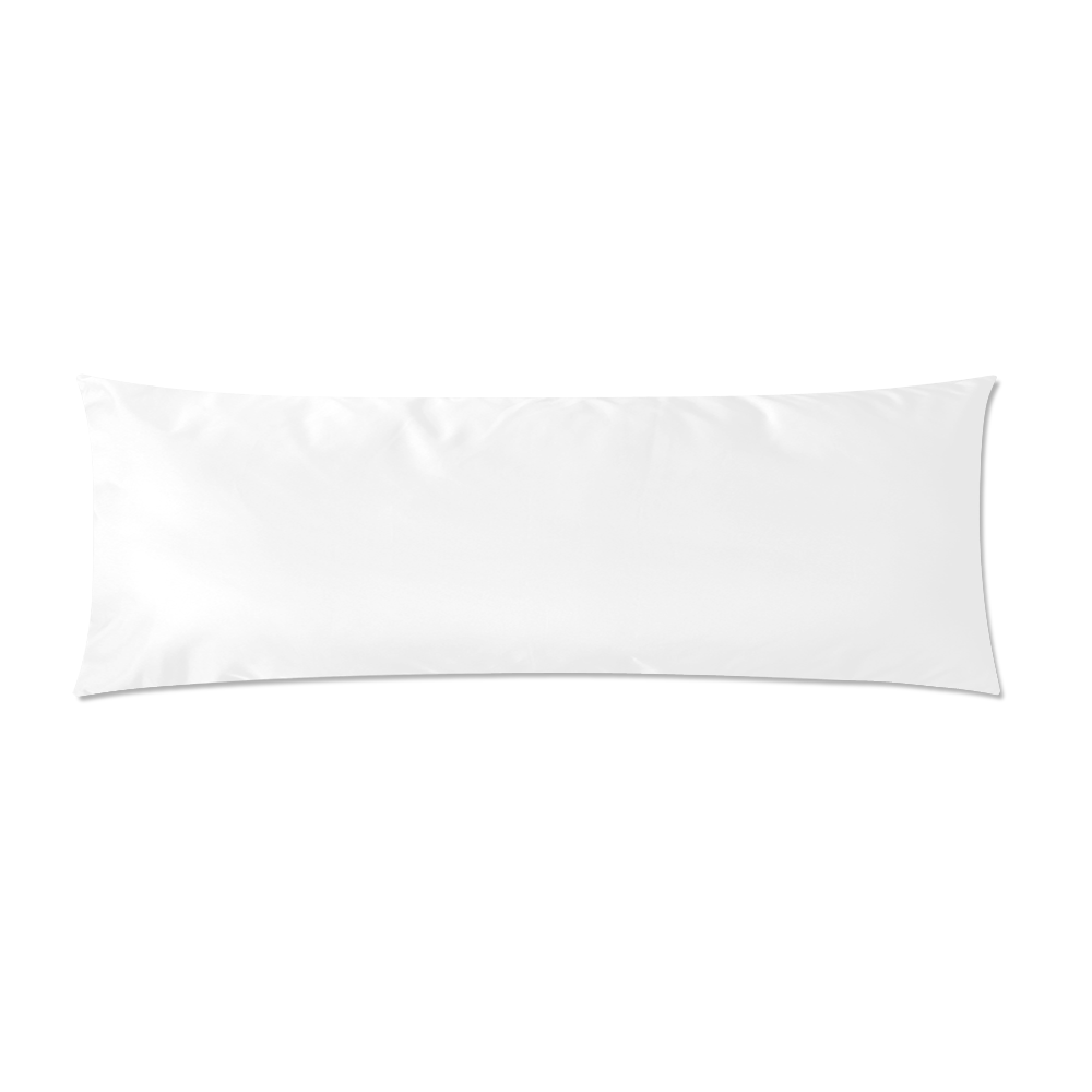 """Custom Zippered Pillow Case 21""""x60""""(Two Sides)"""