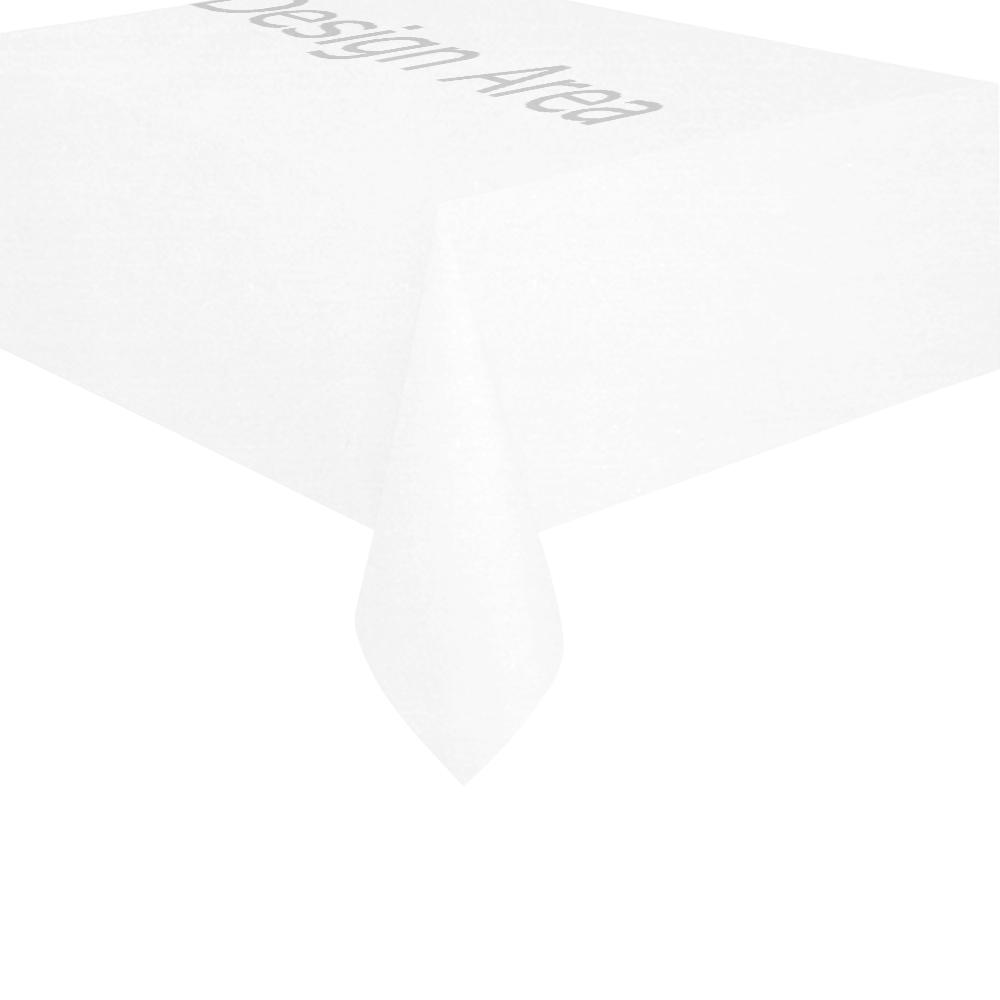 "Cotton Linen Tablecloth 60"" x 90"""