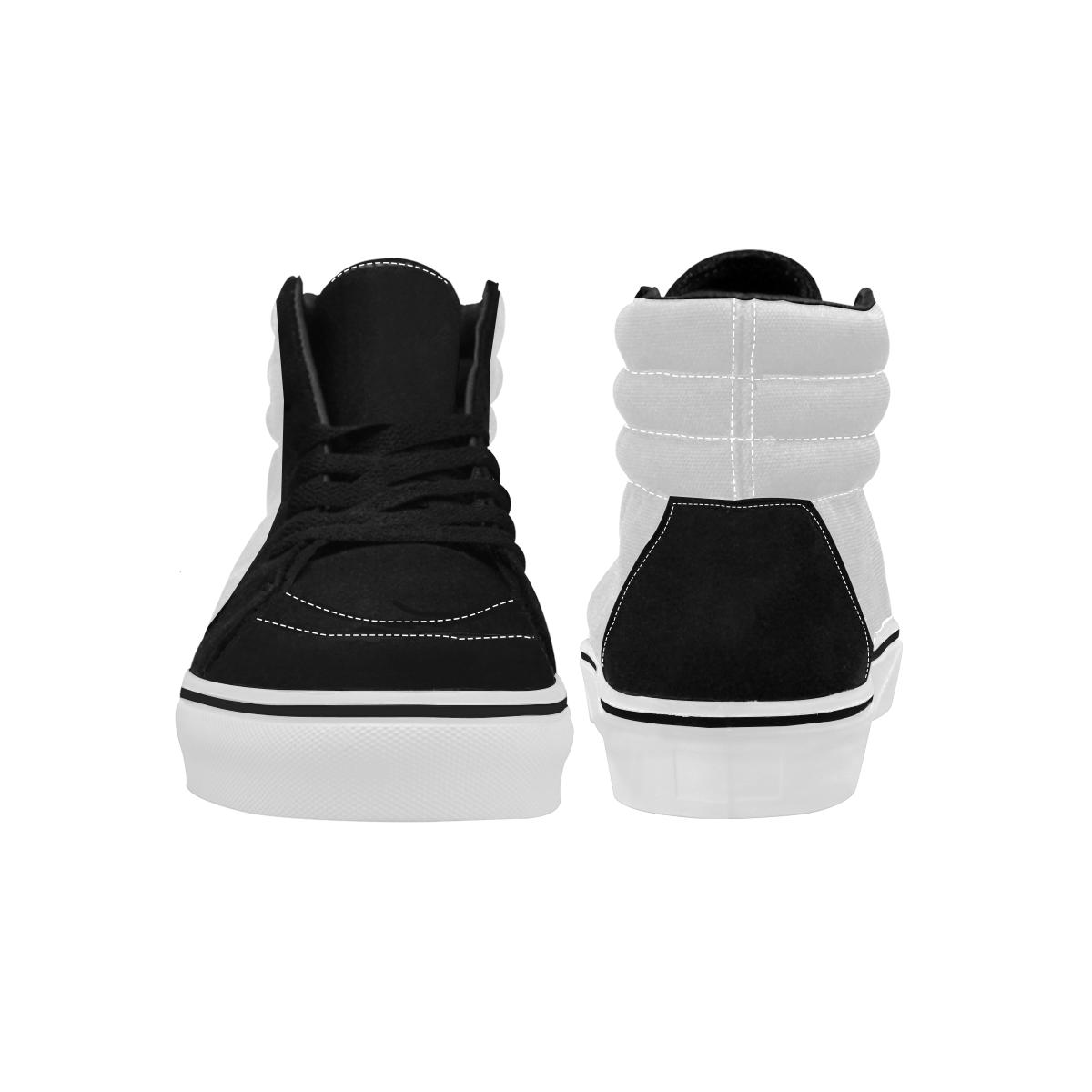 Men's High Top Skateboarding Shoes (Model E001-1)