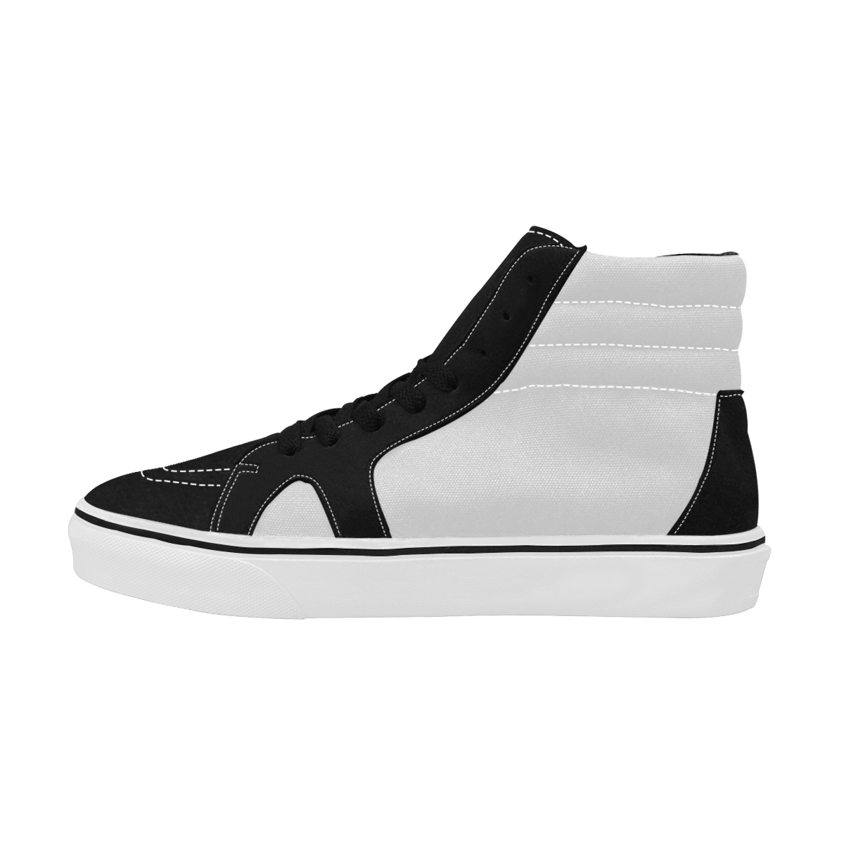 Women's High Top Skateboarding Shoes/Large (Model E001-1)
