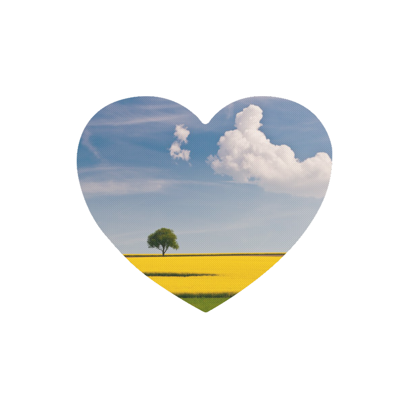 Nature Heart-shaped Mousepad