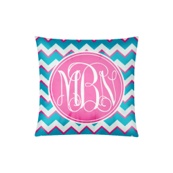 "Word Chevron Custom Zippered Pillow Case 20""x20""(Twin Sides)"