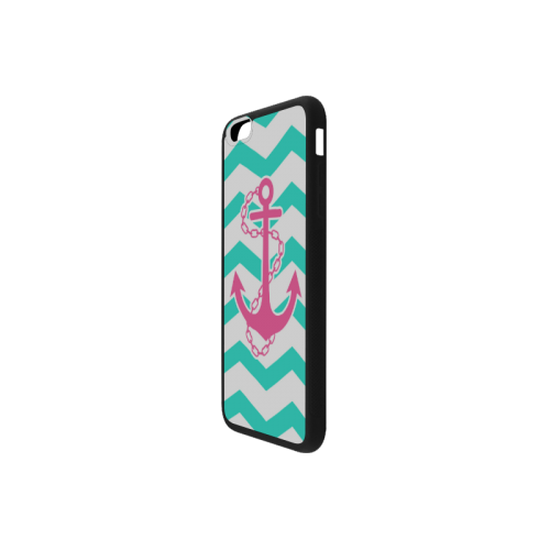 Anchor Chevron Rubber Case for iPhone 6/6s Plus