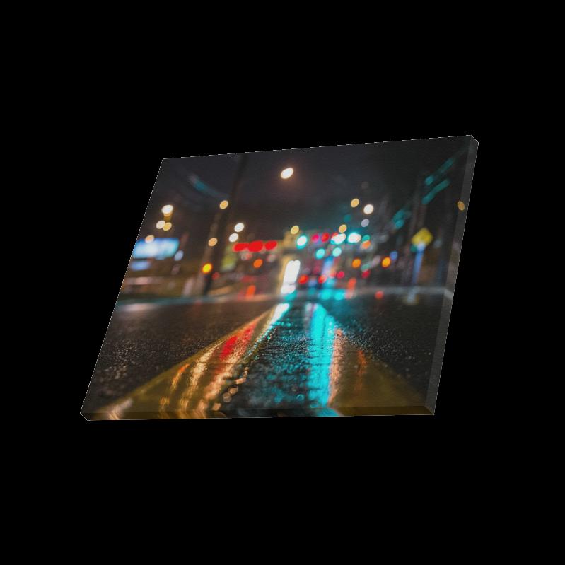 "City Beautiful Road Canvas Print 20""x16"""