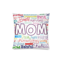 """mothersday Custom Zippered Pillow Case 20""""x20""""(Twin Sides)"""