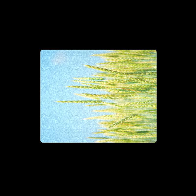 "Green Plants Blanket 40""x50"""