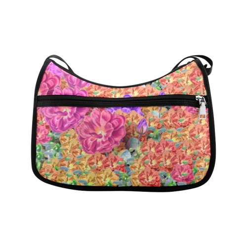 Painted Garden Crossbody Bags (Model 1616)