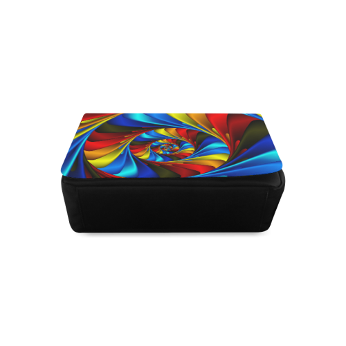 Colorful Spiral Fractal Messenger Bag (Model 1628)