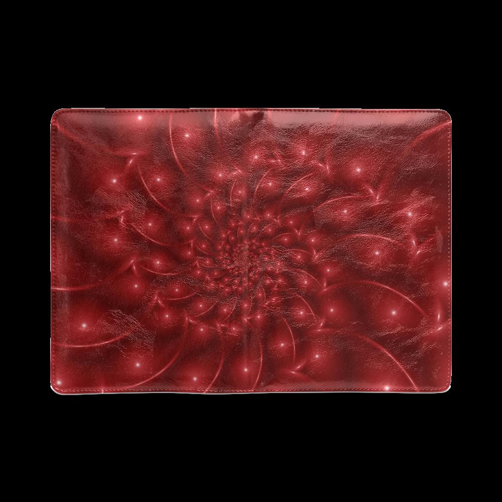 Red Glossy Spiral NoteBook A5 Custom NoteBook A5