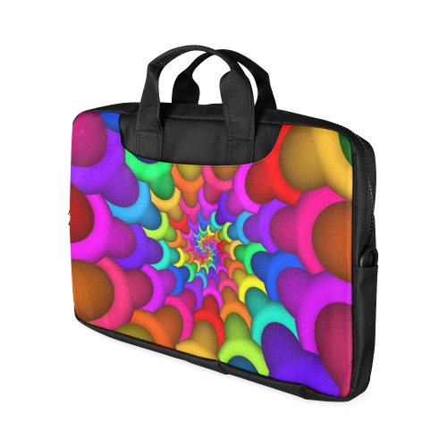 """Psychedelic Rainbow Spiral Macbook Air 15""""(Two sides)"""
