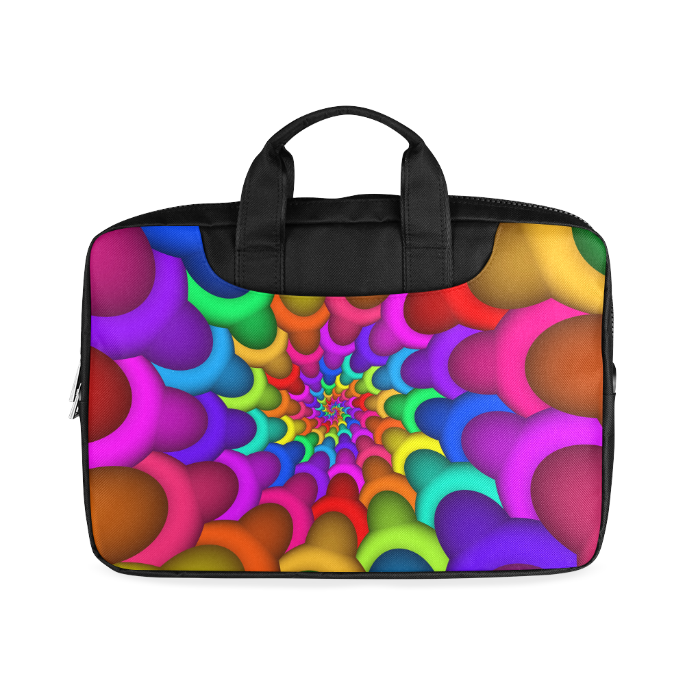 "Psychedelic Rainbow Spiral Macbook Air 13""(Two sides)"