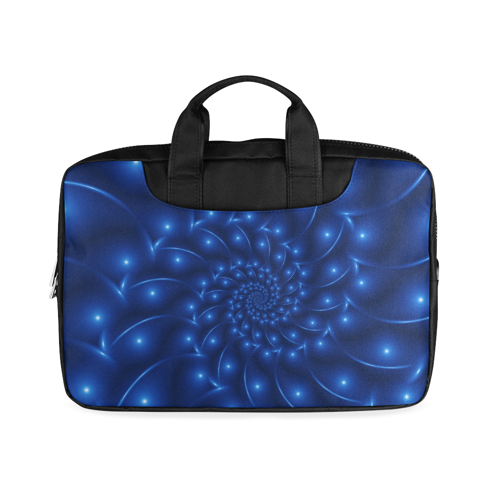 """Glossy Blue Spiral Macbook Air 11""""(Twin sides)"""