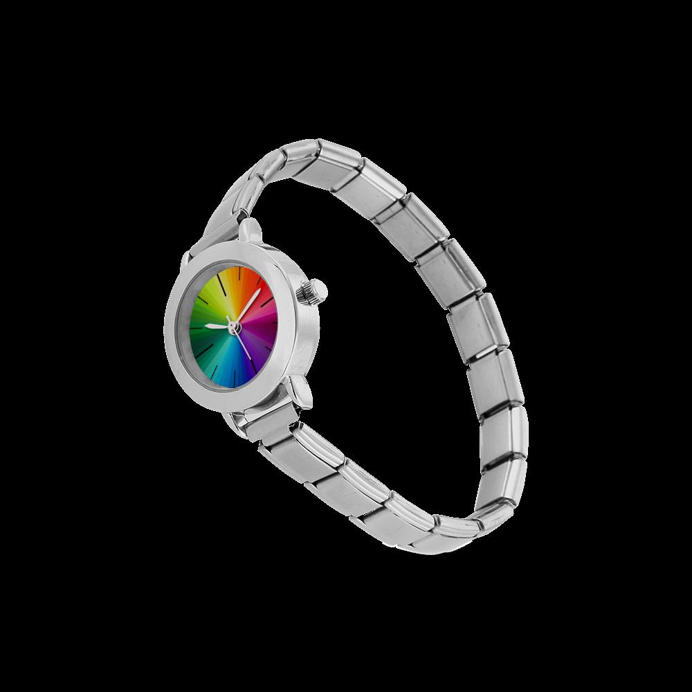 Color Women's Italian Charm Watch(Model 107)