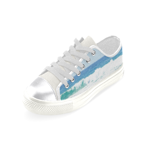 Life is better at the Beach 2 Women's Classic Canvas Shoes (Model 018)