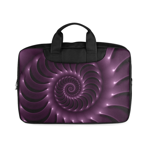 """Glossy Purple Spiral Macbook Air 11""""(Two sides)"""