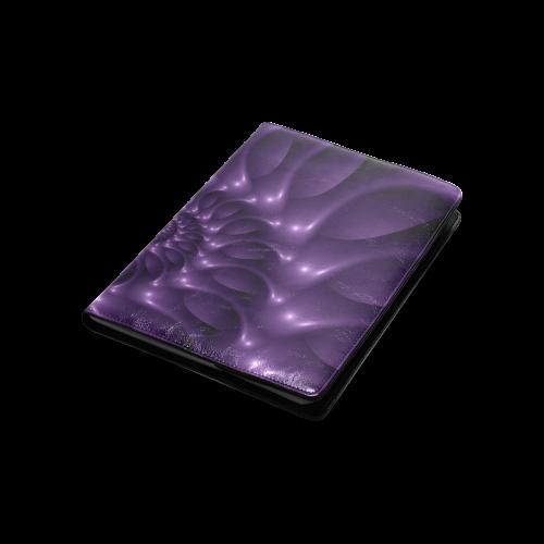 Purple Glossy Spiral Custom NoteBook B5