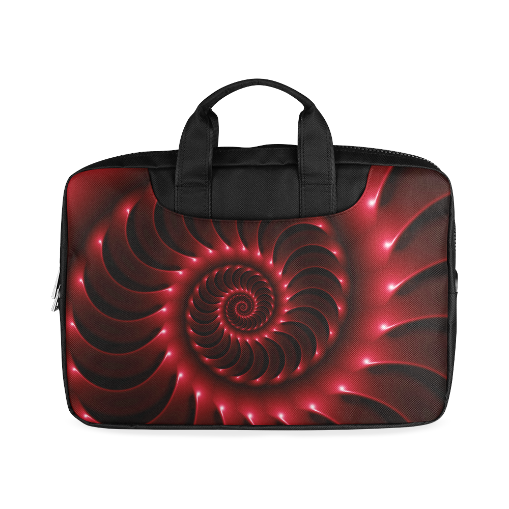"Glossy Red Spiral Macbook Air 11""(Two sides)"