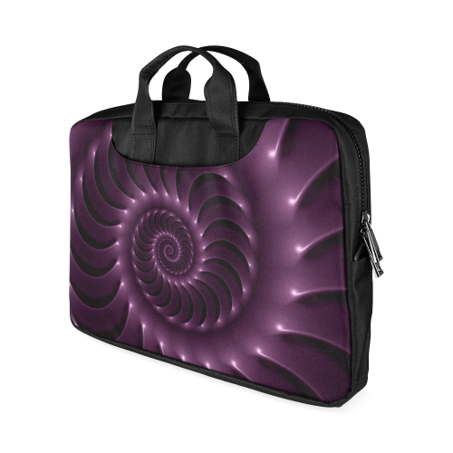 """Glossy Purple Spiral Macbook Air 13""""(Two sides)"""