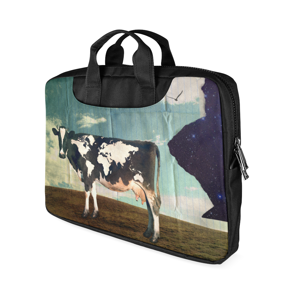 "Surreal Dairy Cow With World Map Macbook Air 15""(Twin sides)"