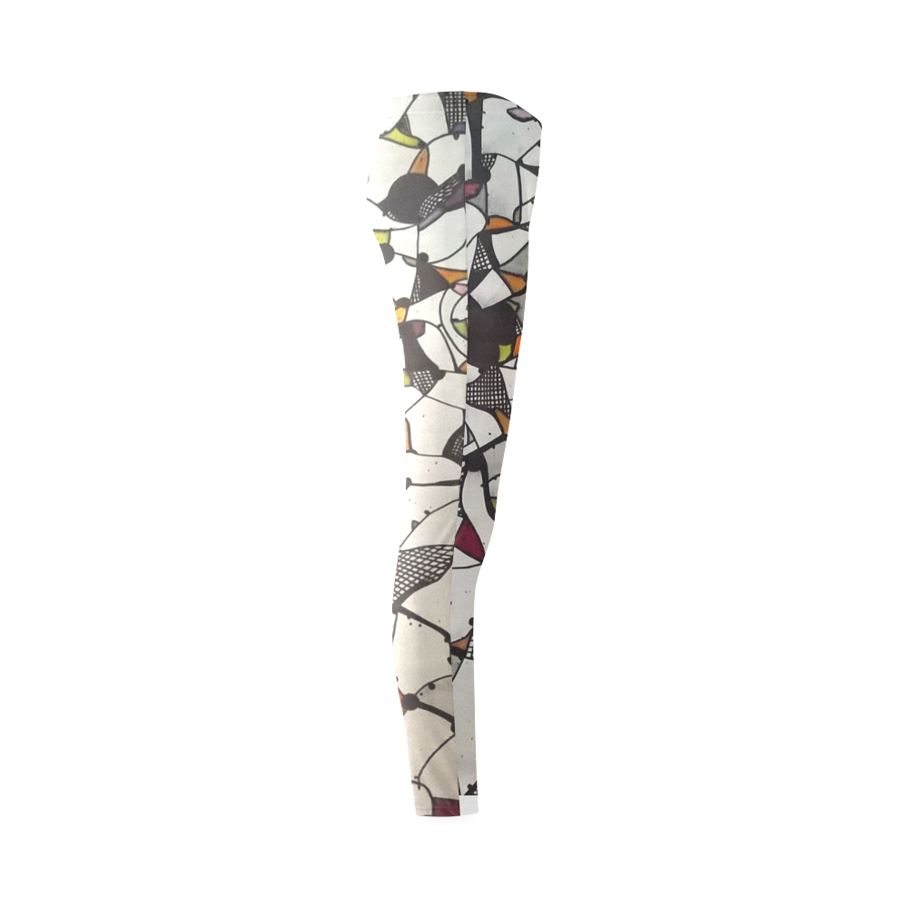 niente 4# Cassandra Women's Leggings (Model L01)