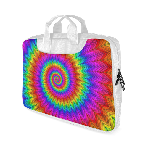 """Psychedelic Rainbow Spiral Macbook Air 15""""(Twin sides)"""