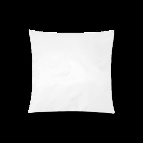 "Spiral Citrus Orange Droste Custom Zippered Pillow Case 20""x20""(One Side)"